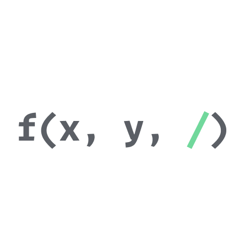 Positional-only arguments in Python