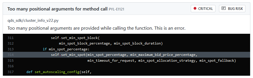 PYL-E1121: Too many positional arguments for method call